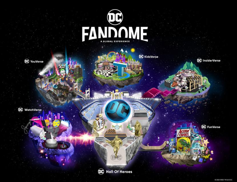Warner Bros. toont nieuwe games op DC Fandome in augustus