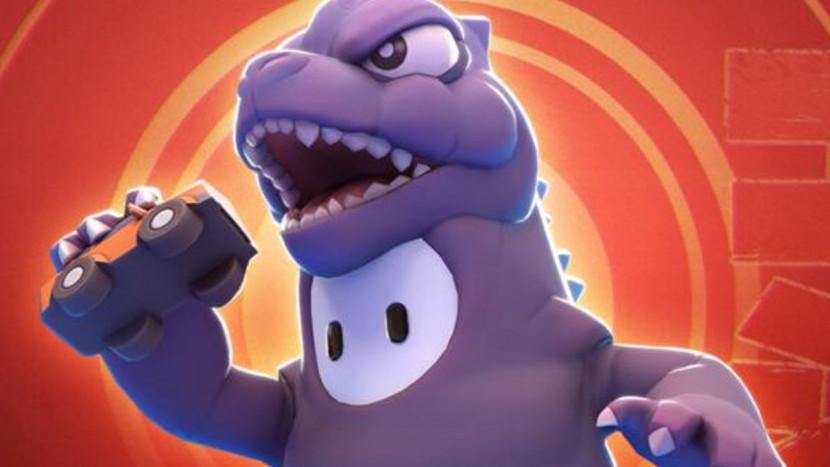 Fall Guys krijgt een officieel Godzilla kostuum