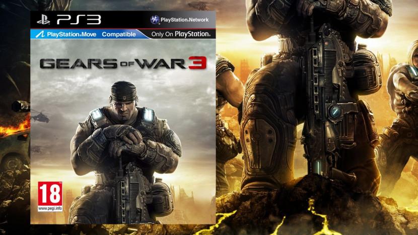 Kijk hoe Gears of War 3 eruit zag op PS3