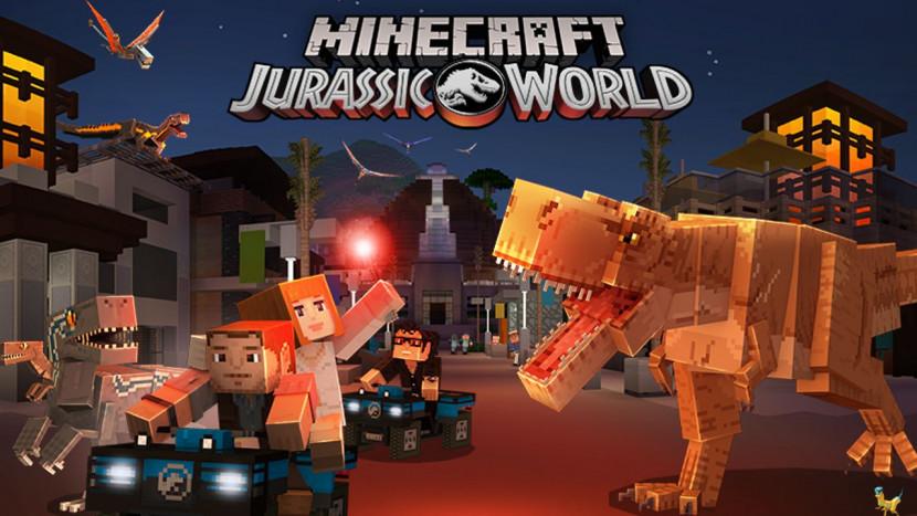 Jurassic World DLC gelanceerd voor Minecraft