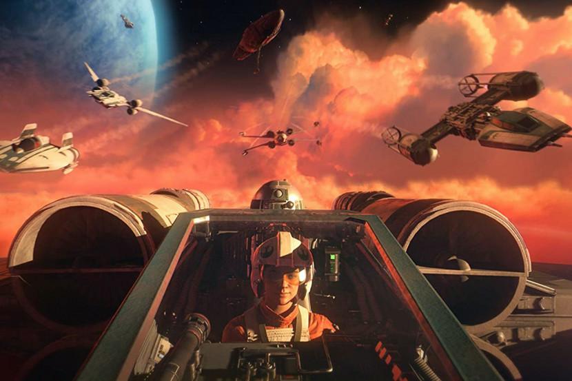 Pak gameplay in nieuwe trailer Star Wars: Squadrons