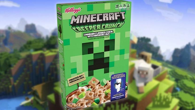 Kellogg's lanceert Minecraft ontbijtgranen