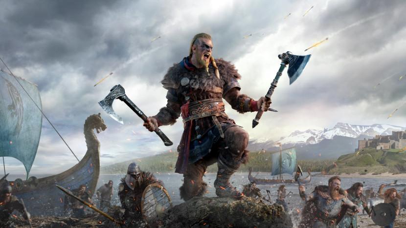 Eivor toont wat een Viking is in Assassin's Creed Valhalla