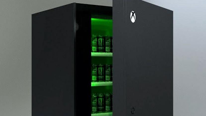 Je kan zo'n grote Xbox Series X koelkast winnen