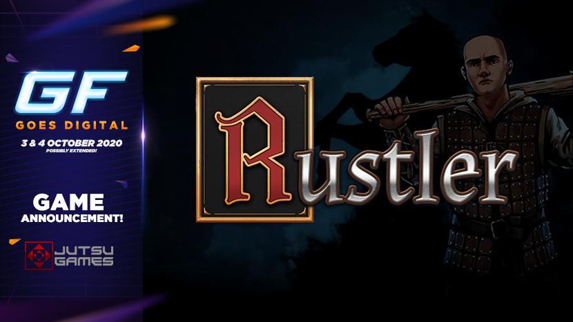 Middeleeuwse hilariteit tijdens GameForce Goes Digital met Rustler (Grand Theft Horse)