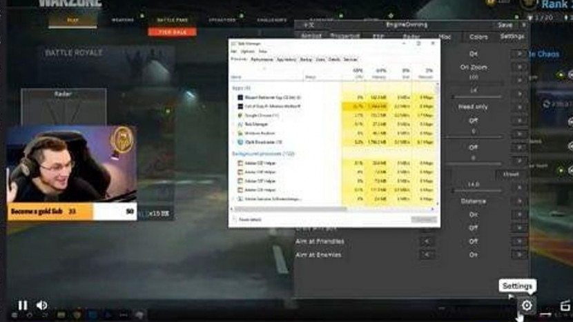 Call of Duty streamer onthult per ongeluk dat hij cheat en krijgt Twitch ban