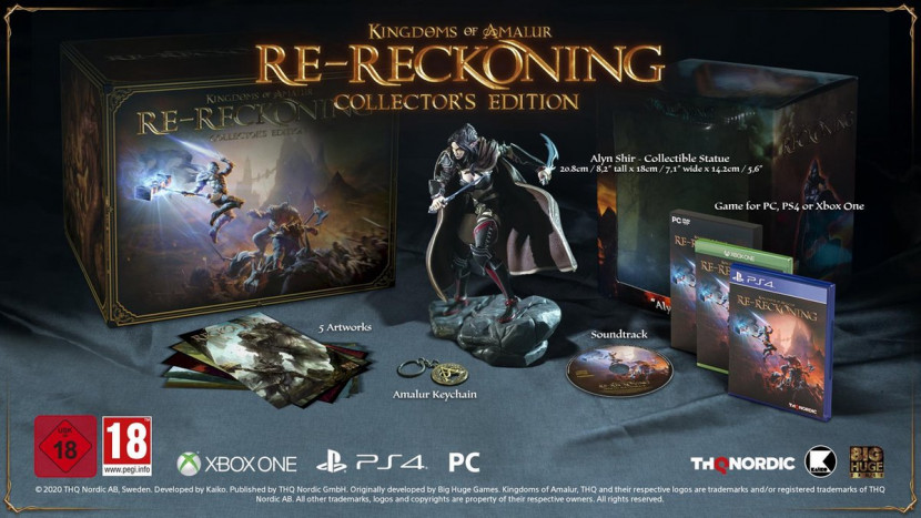 Kingdoms of Amalur: Re-Reckoning verschijnt 8 september