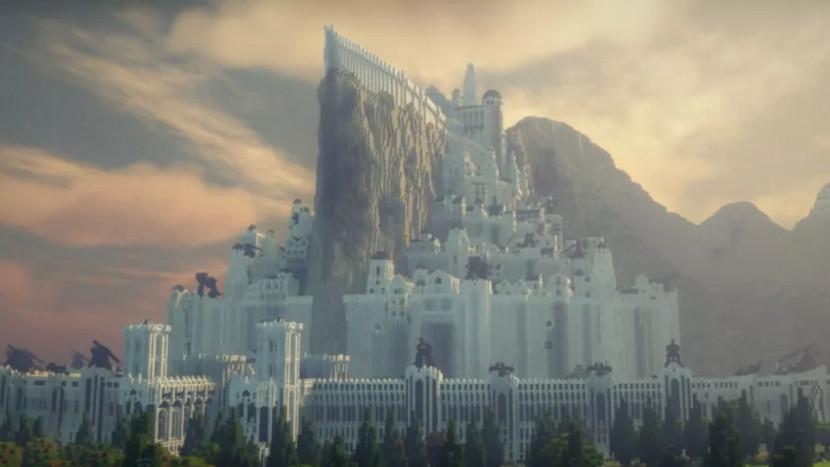 Indrukwekkend: aan Middle-Earth in Minecraft wordt al 10 jaar gewerkt