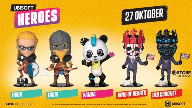 Nieuwe reeks Ubisoft Heroes onthuld