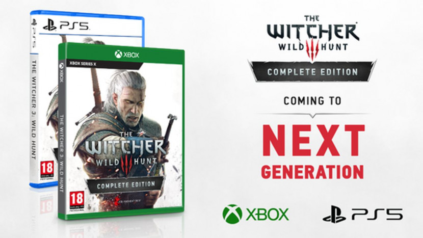 Next-gen versie van The Witcher 3 aangekondigd voor pc, PS5 en Xbox Series X