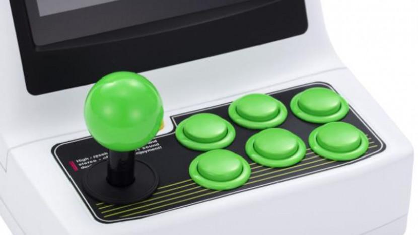 Sega lanceert mini arcadekast met 36 games