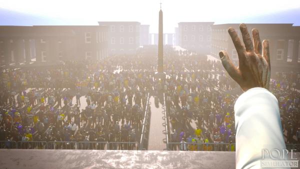 Maak kennis met Pope Simulator