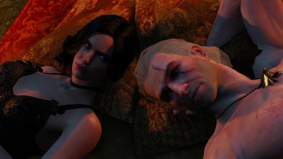 Met deze mod  verander je elke bedpartner van Geralt in Yennefer