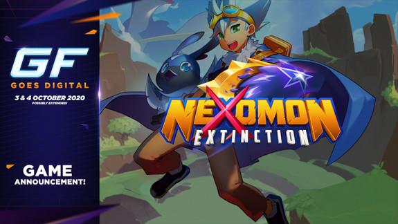 Beestje verzamelen in Nexomon: Extinction