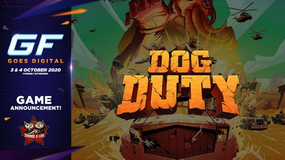 Versla een grote octopus in Dog Duty