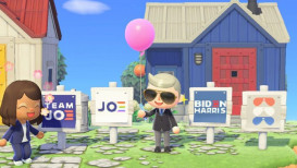 Je kan Biden Island bezoeken in Animal Crossing: New Horizons