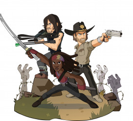 Brawlhalla krijgt drie personages uit The Walking Dead
