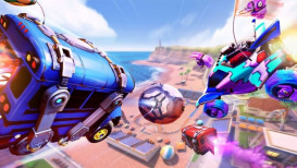 Battle Bus van Fortnite komt naar Rocket League