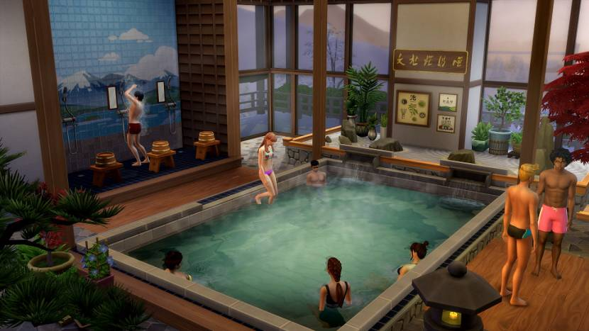 HANDS-ON PREVIEW | The Sims 4 Snowy Escape is een leuk uitje