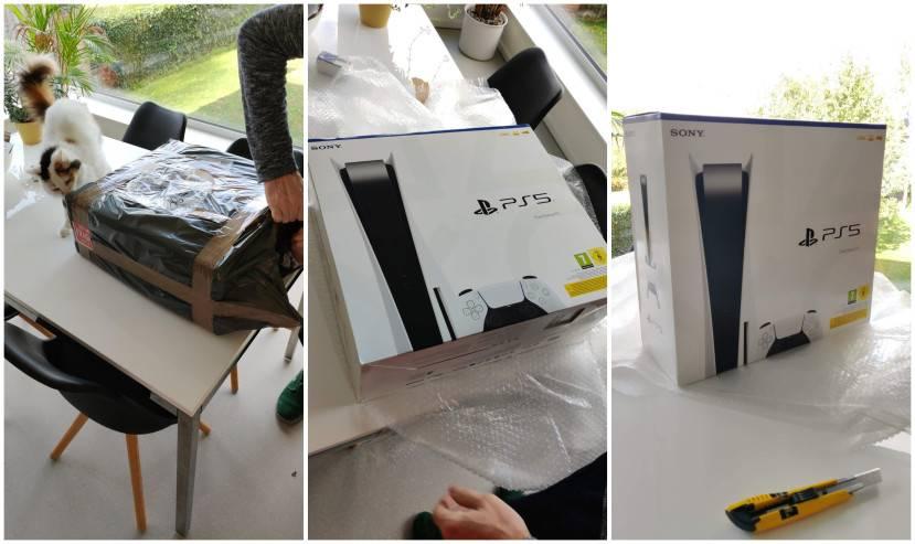 Unboxing: onze PS5 is gearriveerd!