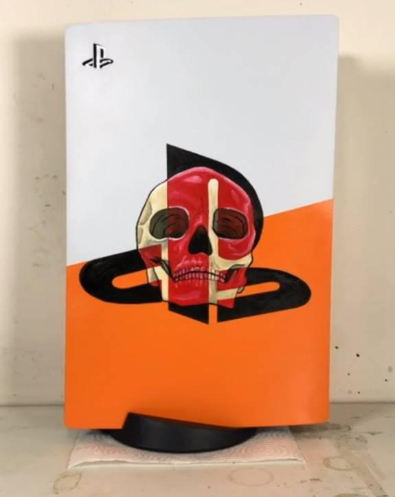 De PS5 krijgt al mooie custom paint jobs