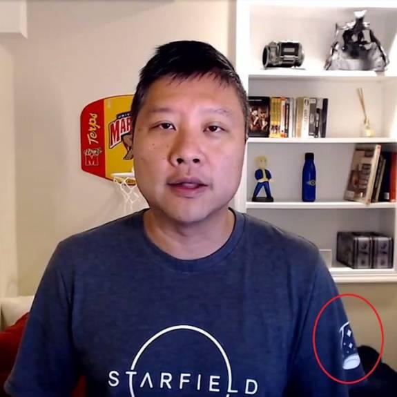 Oeps: t-shirt verraadt echtheid van gelekte Starfield screenshots