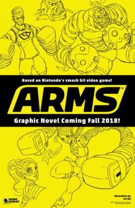ARMS graphic novel geannuleerd
