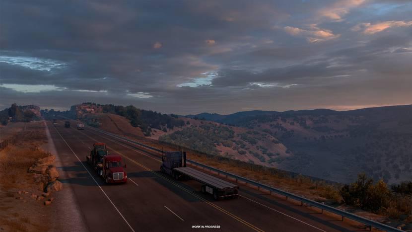 American Truck Simulator richt pijlen op Texas