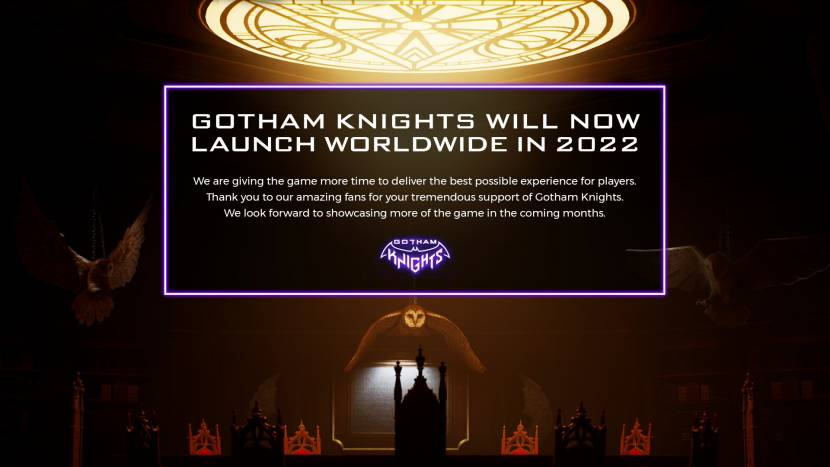 Gotham Knights uitgesteld naar 2022