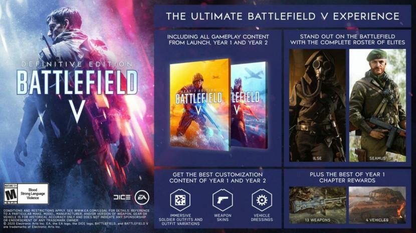Battlefield V Definitive Edition gelanceerd
