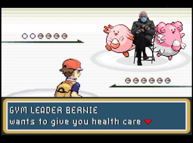 Bernie Sanders meme duikt overal op, dus ook in games