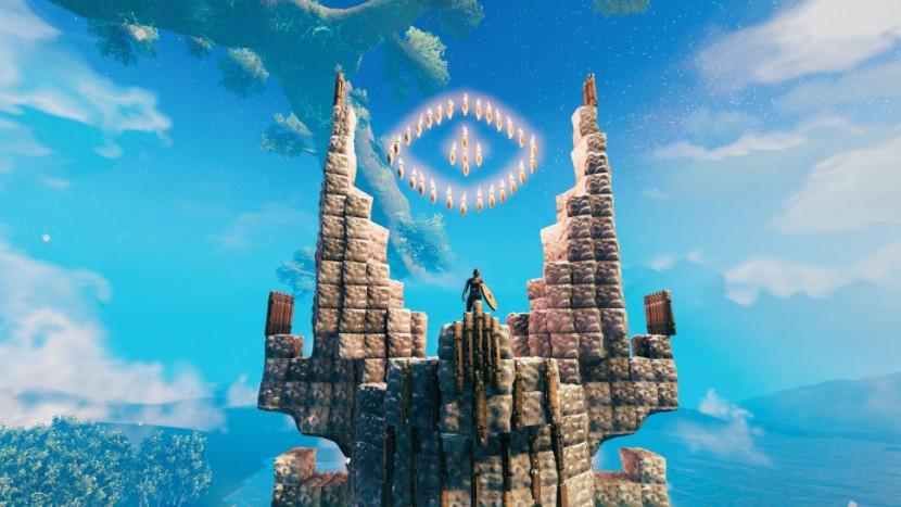 Creatief in Valheim: spelers bouwen Millennium Falcon en de toren van Sauron