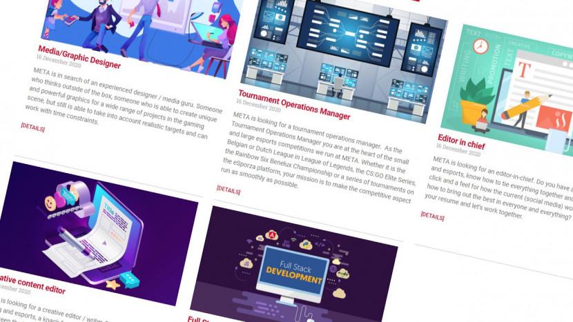 Vacature: het bedrijf achter 4Gamers en GameForce zoekt graphic designer, full stack developer, editors en meer