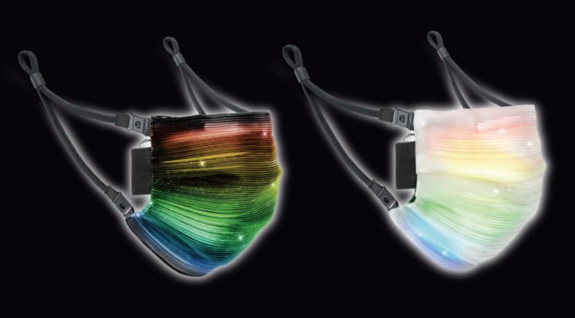 Binnenkort te koop: mondmaskers met ... LED-verlichting