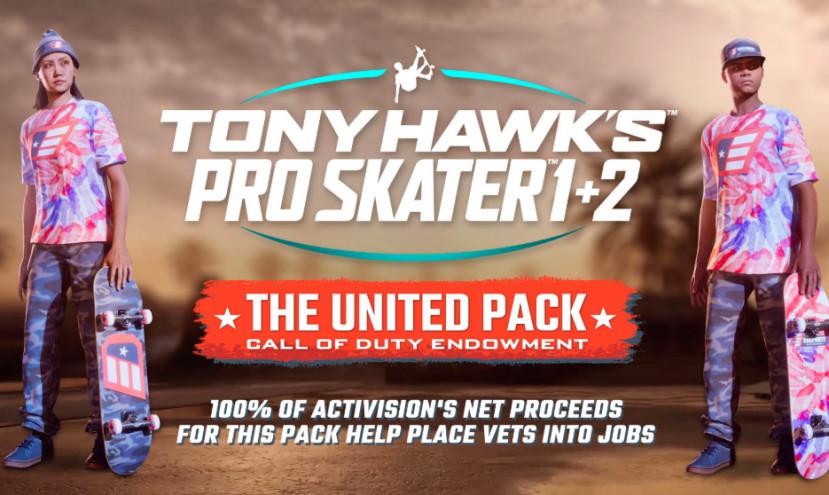 Tony Hawk's Pro Skater 1 + 2 krijgt DLC, opbrengst gaat naar ex-militairen
