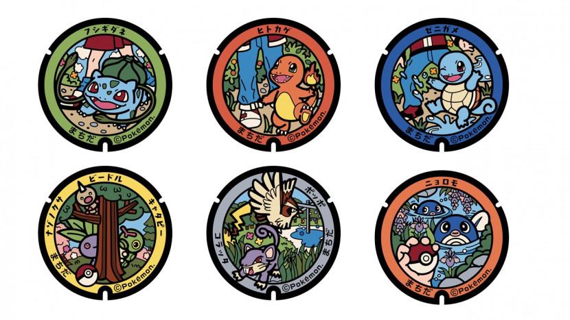 Japan heeft nu 100 Pokémon riooldeksels om te ontdekken