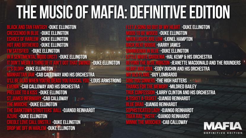 Mafia: Definitive Edition stelt volledige soundtrack voor