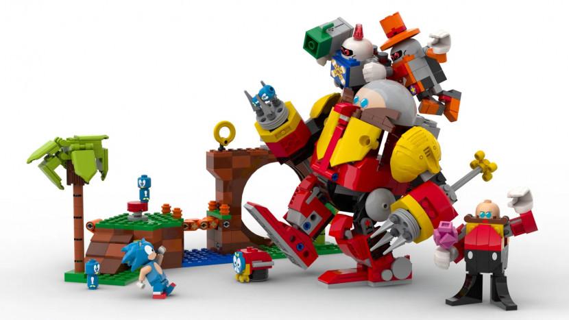 Sonic krijgt een officiële LEGO set