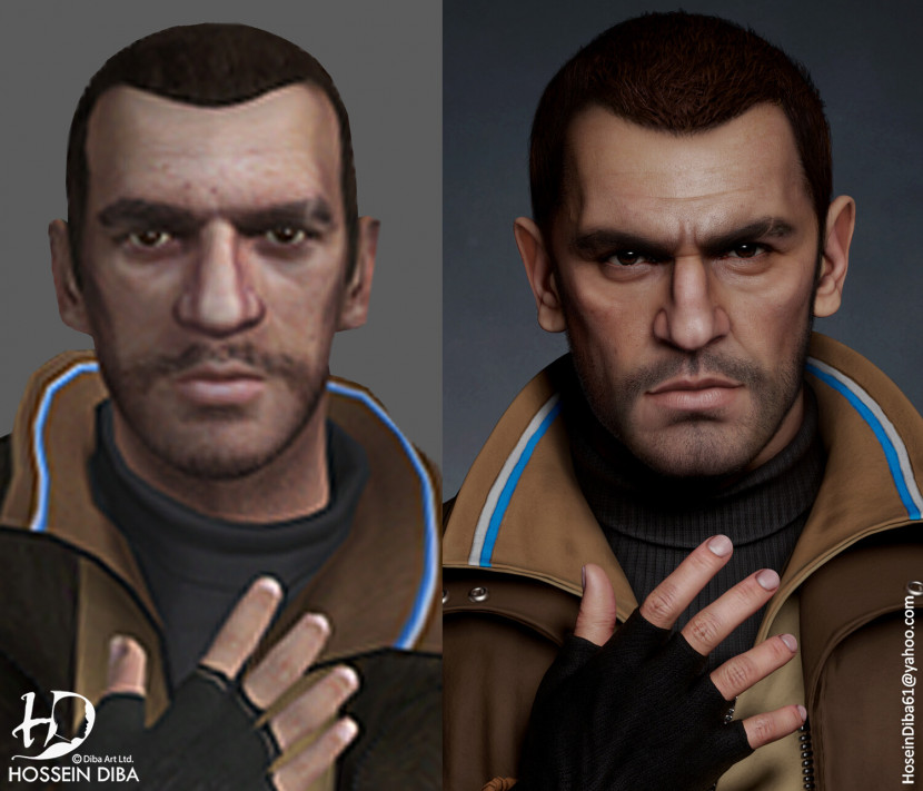 GTA-personages, remastered