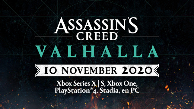 Assassin's Creed Valhalla verschijnt nu 10 november