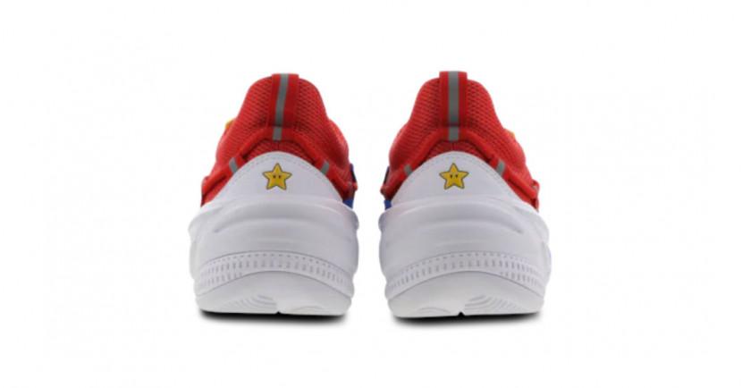 Nintendo en Puma lanceren Mario sneakers