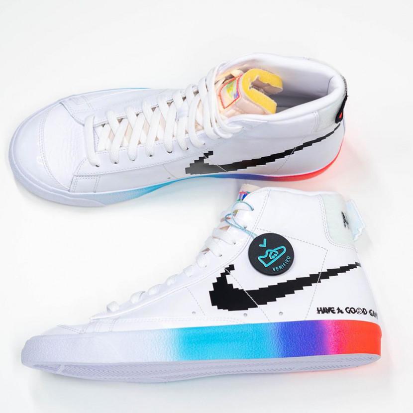 Nieuwe sneakers van Nike brengen eerbetoon aan gamers