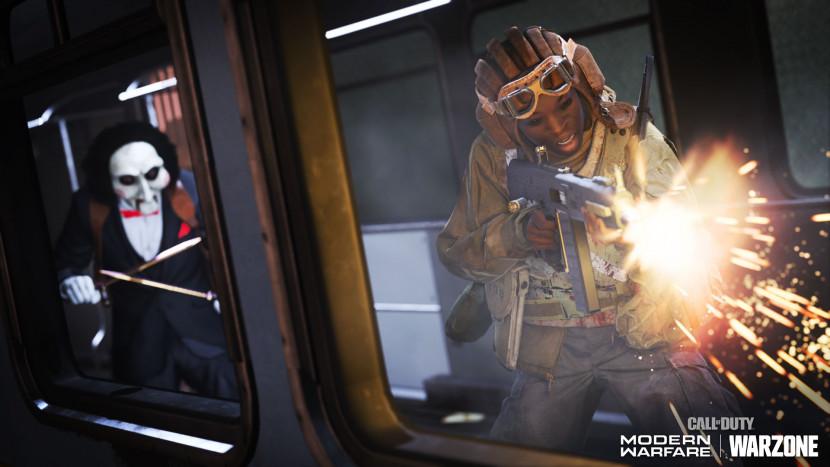 Jigsaw en Leatherface speelbaar in Call of Duty: Warzone