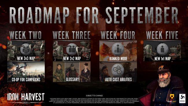 Iron Harvest krijgt deze maand nog nieuwe maps en meer