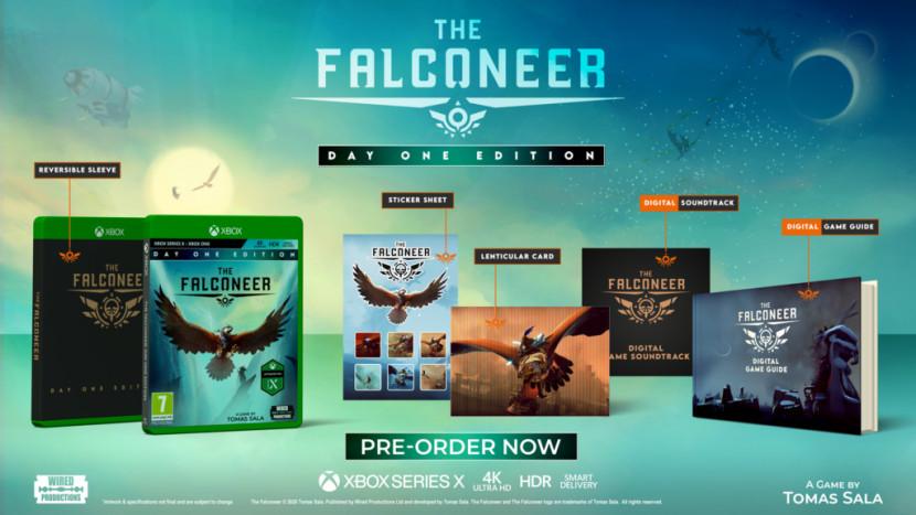Nederlandse The Falconeer verschijnt op dag één voor Xbox Series X