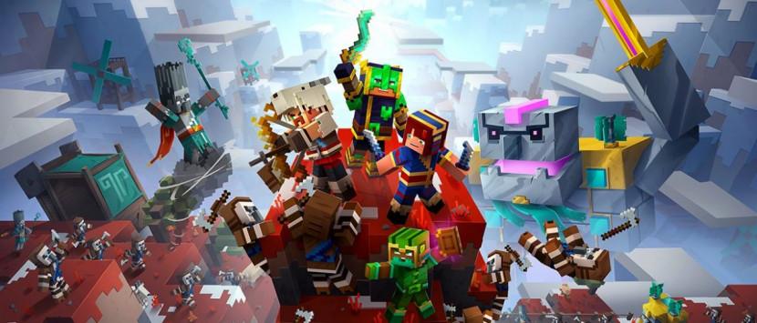 Minecraft Dungeons: Howling Peaks DLC verschijnt op 9 december