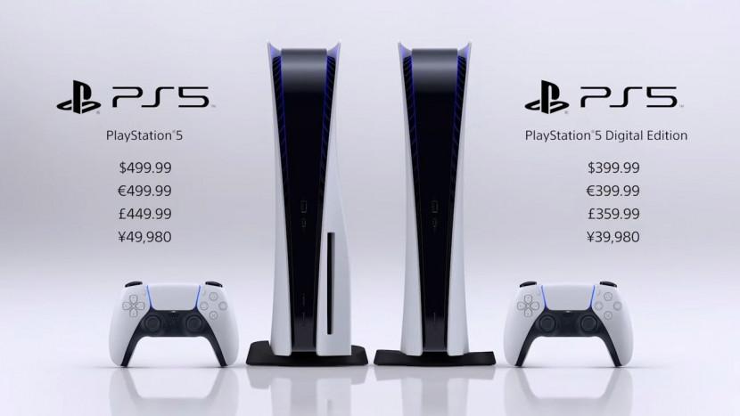PS5: prijzen en releasedatum bekend