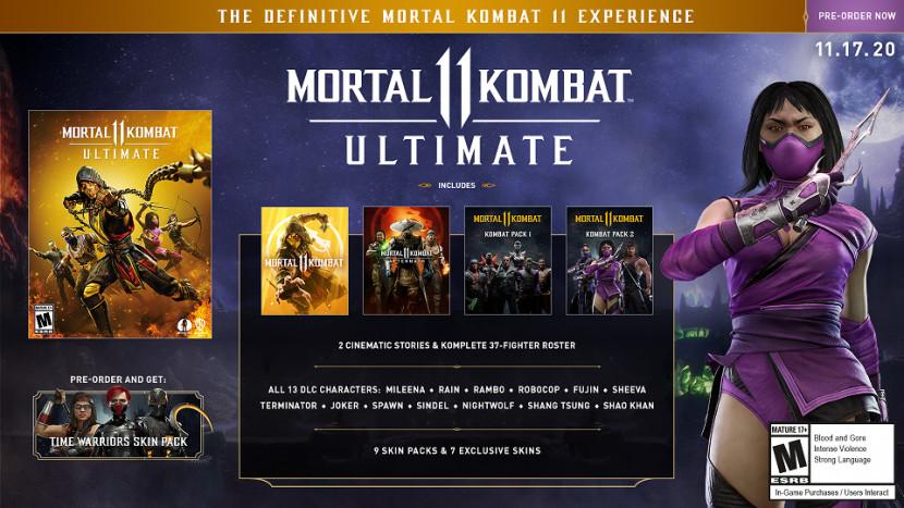Mortal Kombat 11 krijgt Ultimate Edition