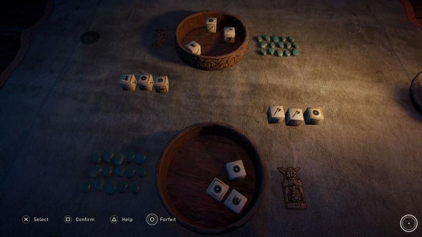 Het dobbelspel van Assassin's Creed Valhalla krijgt in 2021 een fysieke release