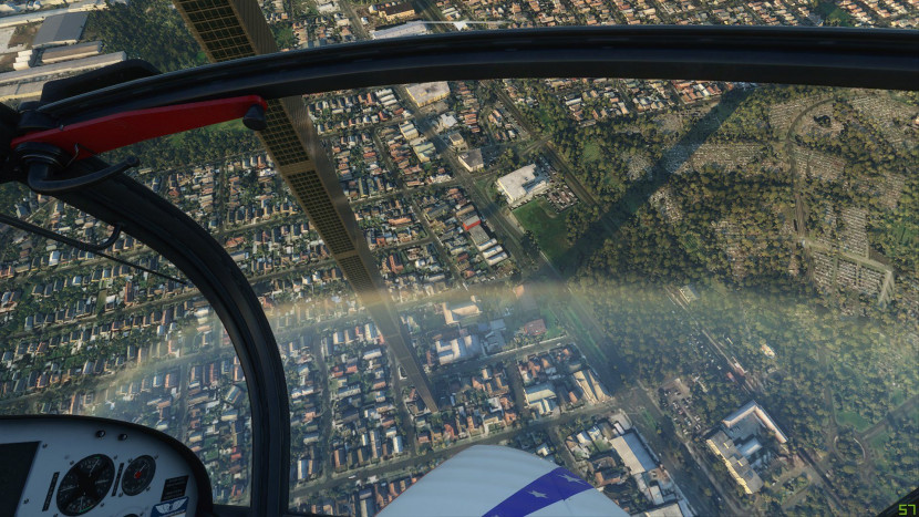 Het geheim achter de gigantische wolkenkrabber in Microsoft Flight Simulator